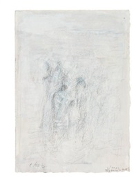 ohne titel (oeuvre nr. 3222) / ohne titel (oeuvre nr. 3292) (2 works) by eugen batz