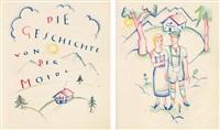 die geschichte von der moidl (booklet w/22 pp. illus. & text) by carry hauser