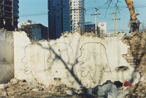 demolition7 by zhang dali