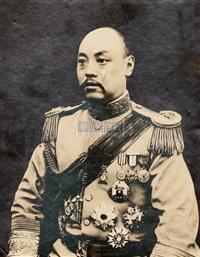 portrait of jin yunpeng by xiaopeng studio