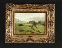 landschaft im schwarzwald by wilhelm g. hasemann