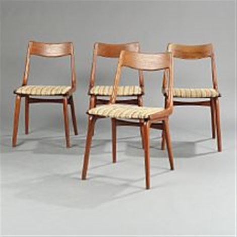Boomerang Dining Chairs By Alfred Christensen