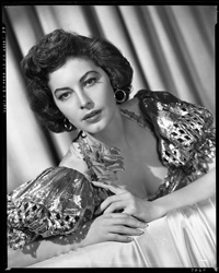 ava gardner camera negative (from show boat) by virgil apger