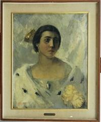 ritratto di nobildonna by angelo alebardi