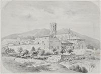 monasterio de pedralbes by luis rigalt