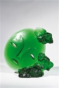grüne maske by ales vasicek