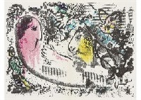 reverie from d.l.m (set of 4) by marc chagall