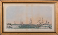 right whaling in behring straits & arctic ocean with its varieties by john henry bufford