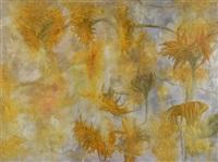 sunflowers-feldbach by richard dunlop