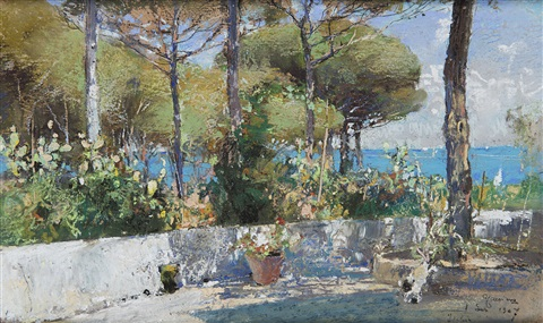 Veduta dalla terrazza by Giuseppe Casciaro on artnet
