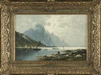 norwegische fjordlandschaft by johann jungblut