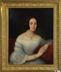 portrait de jeune dame 19ème by austrian school (19)