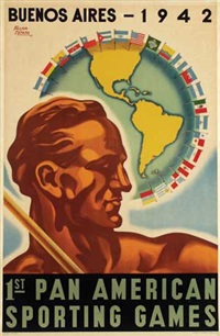 1st pan american sporting games buenos aires (design) by falier totaro