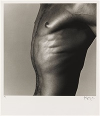 alistair butler (torso) by robert mapplethorpe
