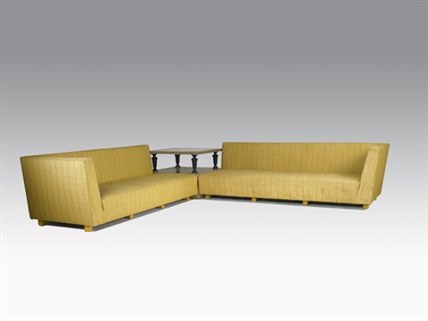 Sectional Sofa With Corner Table Peter Hvidt And Orla