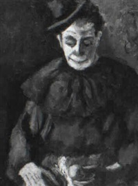 contemplative clown by samuel brecher