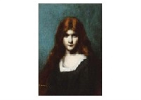 lady by jean jacques henner