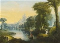 the voyage of life: youth by erastus salisbury field