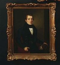 porträt der gustav dofour by jakob (johann) hermann
