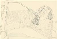 st.louis-blues (+ spiegelsterben; 2 works) by heinz battke