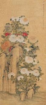 菊石图 by ma quan