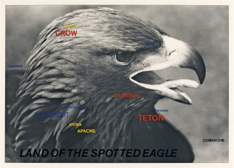 land of the spotted eagle by lothar baumgarten