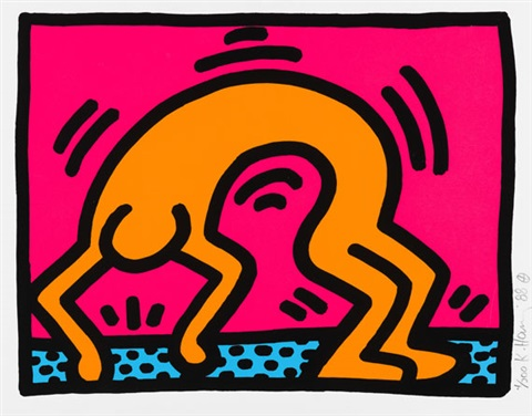 pop shop ii pl2 from pop shopp ii by keith haring