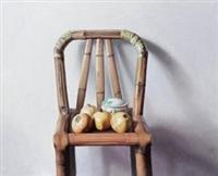 竹椅 by liu zhong