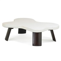 coffee table, no. 5005 by paul t. frankl