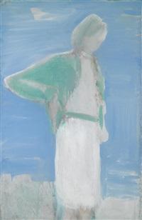 grüne weste by siegfried anzinger