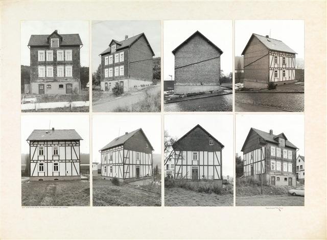ansichten eines wohnhauses in birken bei siegen 8 works by bernd and hilla becher