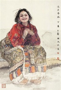 高原春风 (character) by ren jimin
