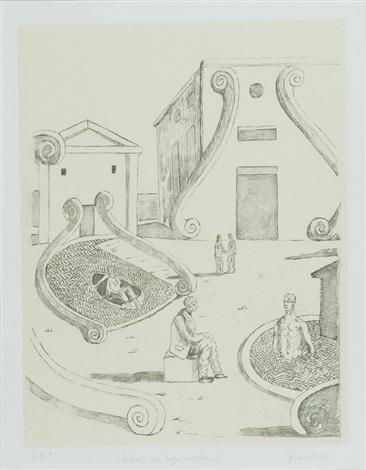 Incontro nei bagni misteriosi by Giorgio de Chirico on artnet