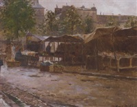 the market at avenue de neuilly by cristobal de antonio