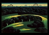 green fields by eyvind earle