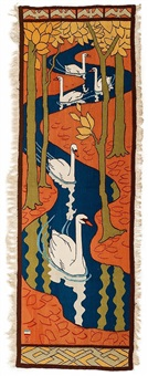 five swans by otto eckmann