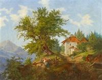 in den österreichischen alpen by karl linsbauer