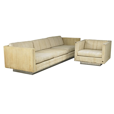 Sofa Club Chair Smllr Set Of 2 By Harvey Probber