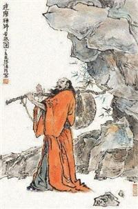 达摩 (一件) by han wu
