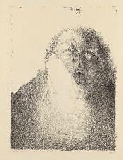selbst singend (25.3.65) by horst janssen