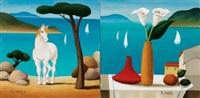 cavallino (+ fiori e frutta; 2 works) by roberto masi