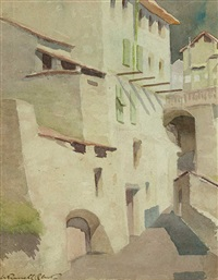 malerische südliche architektur by william russell flint