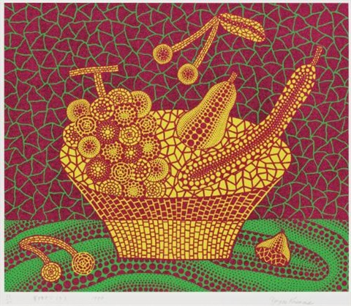 fruit basket no 3 by yayoi kusama