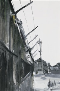 wall surrounding the factory by cui guotai