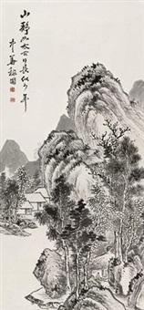 山静日长 by jiang jiapu
