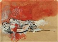 man lying down by bruno bruni