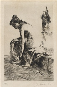 susanna im bade by lovis corinth