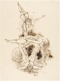 aus der folge: mädchen im zirkus (2 works) by richard ziegler