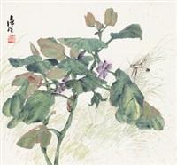 虫蝶图 by liu bin