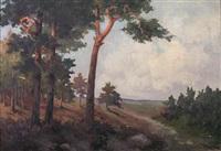 wooded landscape by emy rogge
